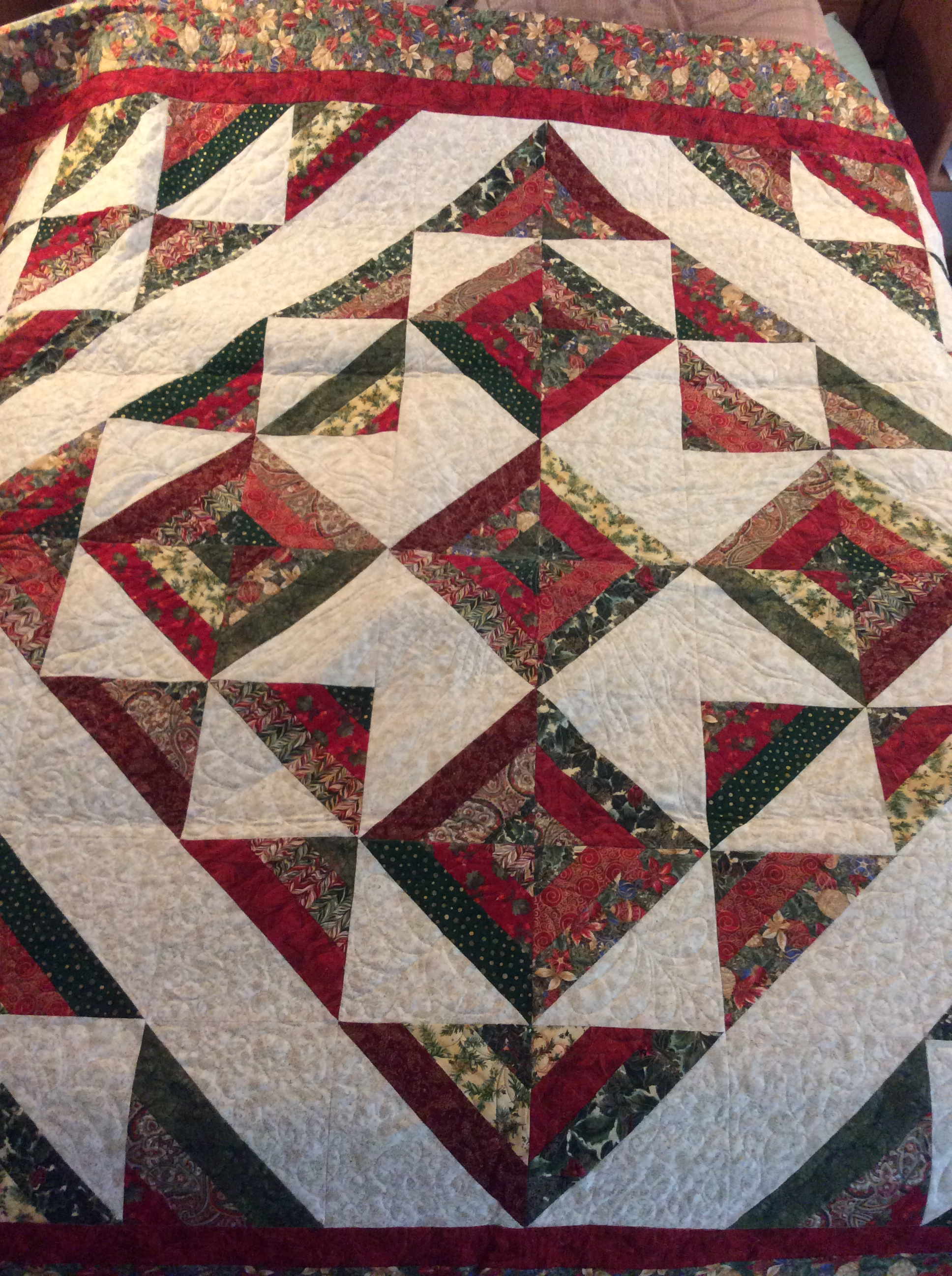 Cozy Quilt jelly roll pattern