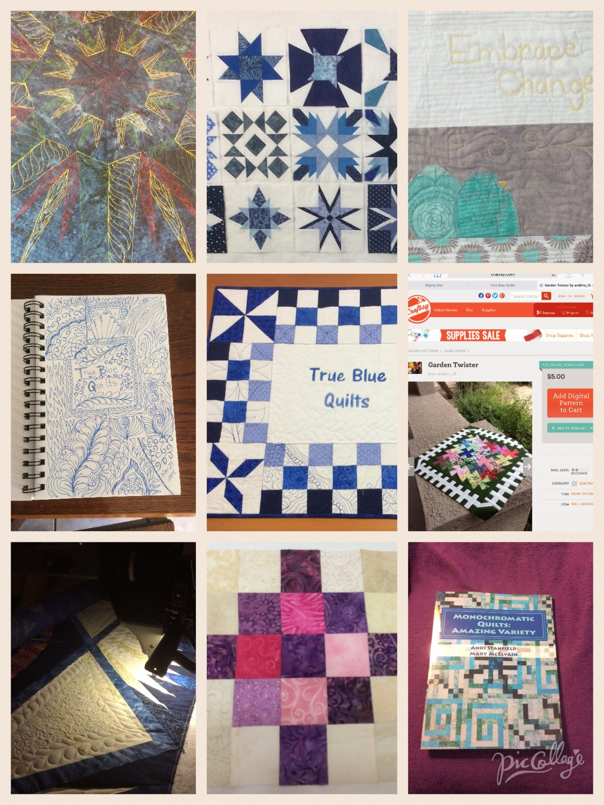 free motion quilting projects from 2015