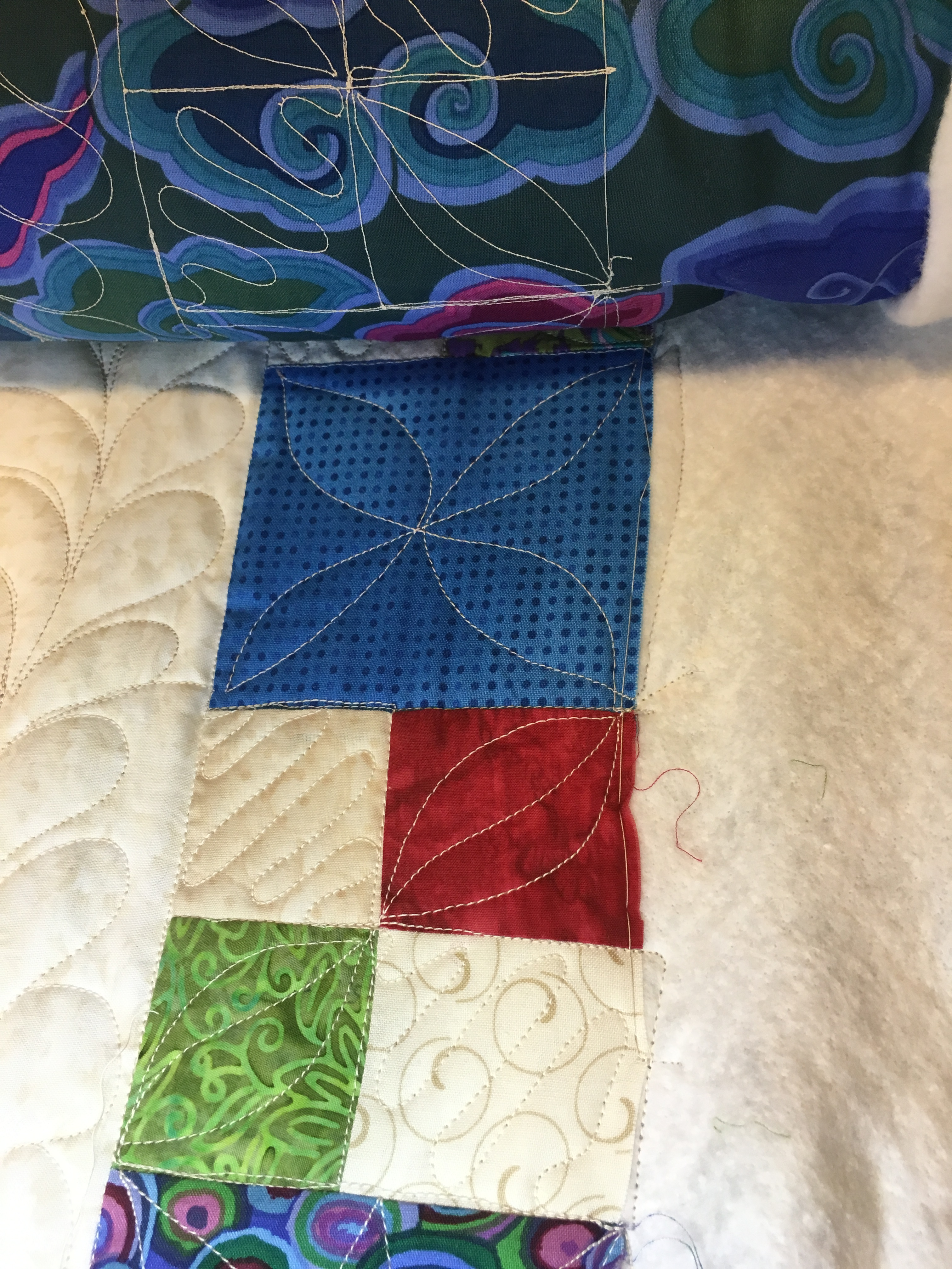Free Motion Monday Filler Designs For A Jewel Box Quilt
