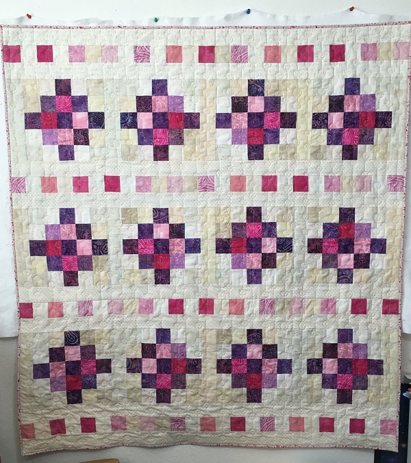 Beaded Curtain quilt sm