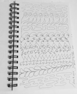 sketchbook quilting designs