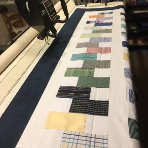 stacked coins quilt longarm quilting