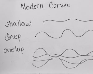 tutorial for modern curves quilting