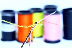 needle and thread photo