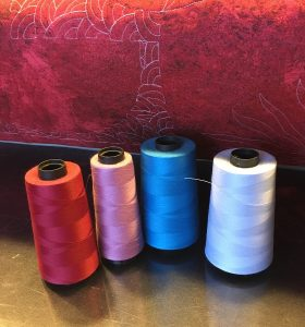 thread choice for free motion quilting