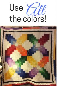 how to choose quilt colors