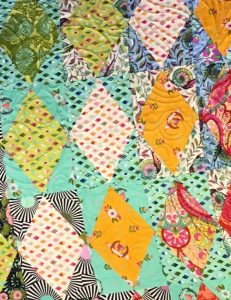 Tula Pink's great sense of color for quilts