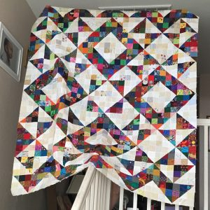 Quilts of Valor split nine patch