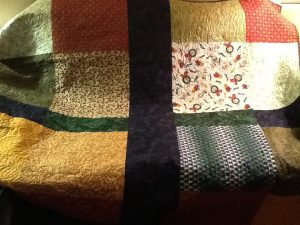 pieced backing for a quilt