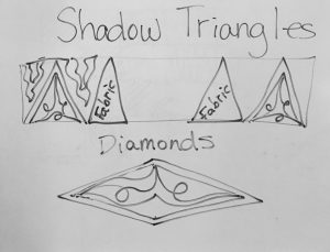 shadow quilting diagrams