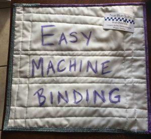 class sample machine binding