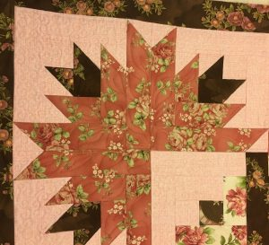 developing a quilting plan for corners