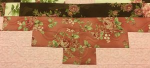 ribbon quilting on quilt borders