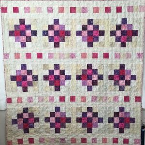 beaded curtain quilt