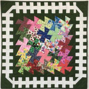 Garden Twister quilt