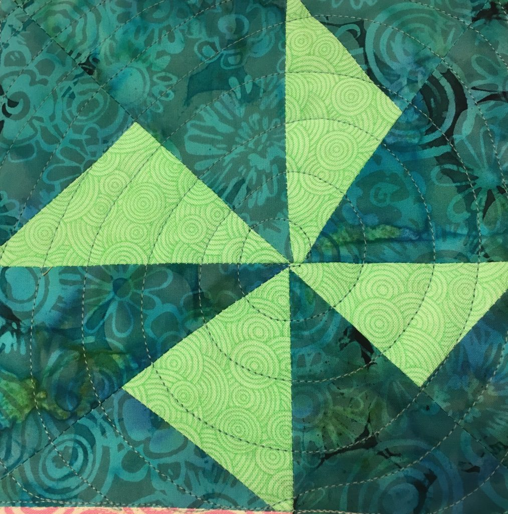 Free Motion Quilting Designs In Triangles
