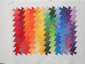 quilting inspired by Leah Day