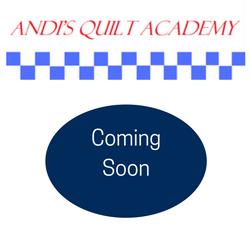 Andi's Quilt Academy