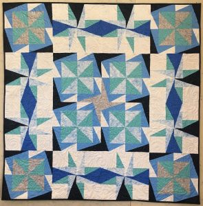 Winter Blues AnglePlay quilt
