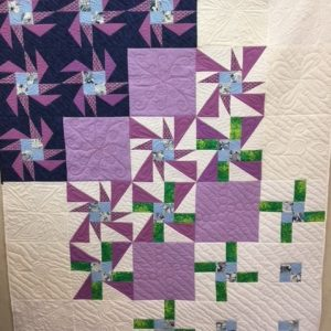 Meteor AnglePlay Quilt