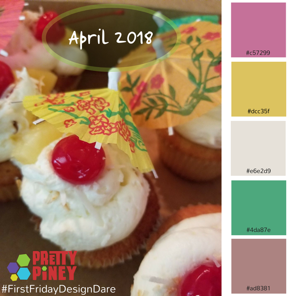 April 2018 Design Dare image from Pretty Piney