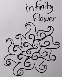 flower with curls