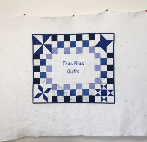 True Blue Quilts banner