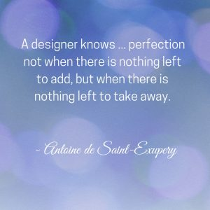 quote for design perfection