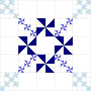 pinwheel design progression