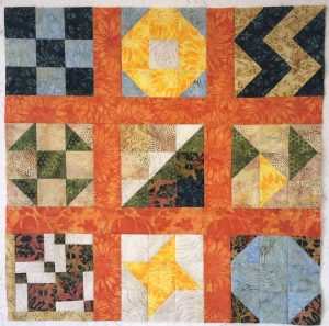 Nine Patch Challenge blocks