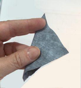 fold a square into a triangle