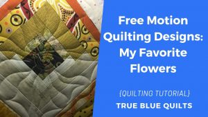 floral quilting