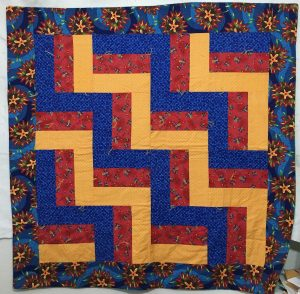 rail fence beginner quilt