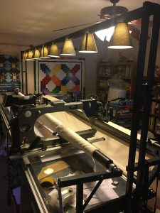 longarm sewing room tour