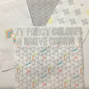 birthday gift fabric
