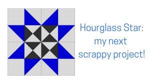 hourglass star block