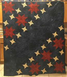 McCalls star quilt by True Blue Quilts