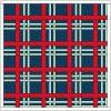 full quilt from tartan block