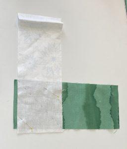 diagonal seam for tree branch