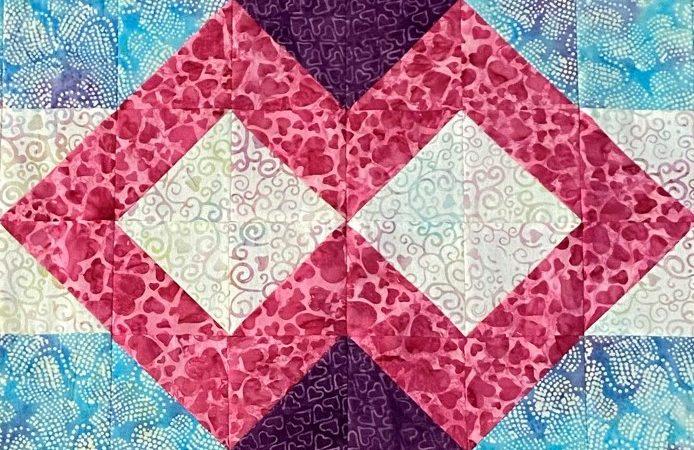 Infinity-quilt-block