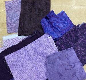 eggplant purple fabric