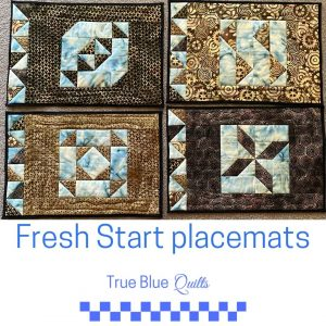 Fresh Start placemats