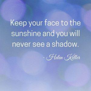 Helen Keller positivity