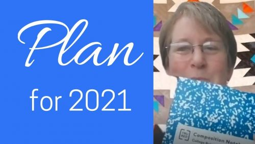 time to plan in 2021
