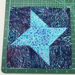 batik friendship star block