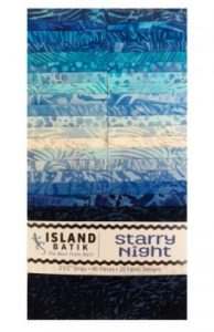 Island Batik Starry Night fabric