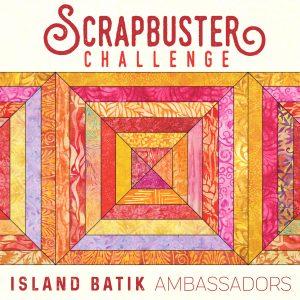 Island Batik Scrapbuster challenge