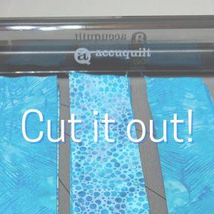 Accuquilt Go makes cutting a breeze
