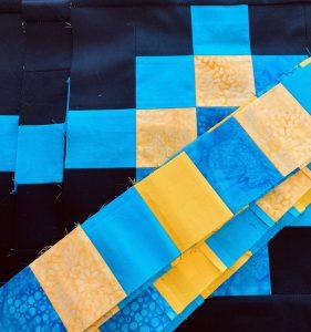 blocks and sashing strips