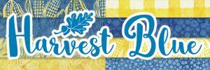 Harvest-Blue by Kathy Engle for Island Batik